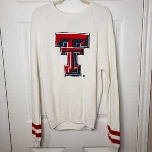 Texas Tech Red Raiders Varsity Patch Knit Sweater
